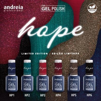 """The Gel Polish Andreia - Coleção 6 cores """"Hope"""""""