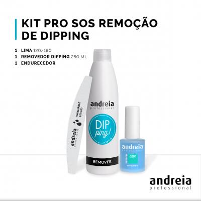 Kit Pro SOS Remoção de Dipping Andreia