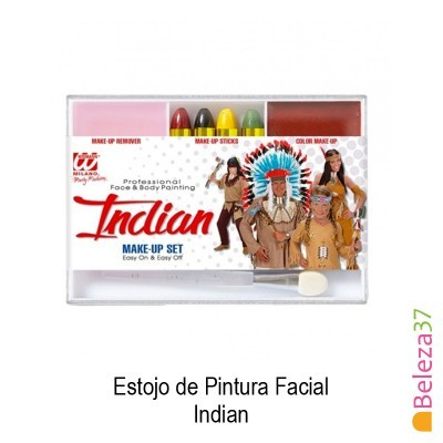Estojo de Pintura Facial - 05 - Indian (Indio)