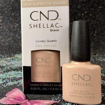 CND Shellac #00113 – Lovely Quartz