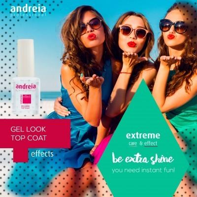 Top Coat Andreia Gel Look Effect