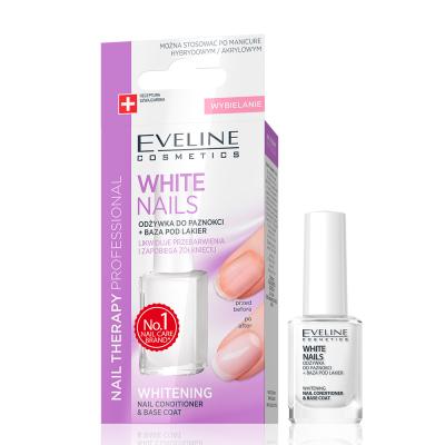 Tratamento de Unhas Eveline 3 em 1 Instantly Whiter