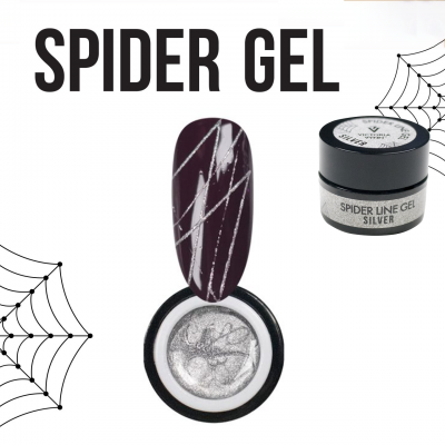 Spider Gel Victoria Vynn - Silver (Prata)