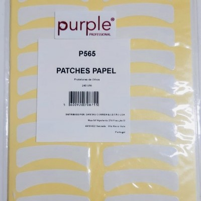 Patches Papel - Pack com 240 unidades