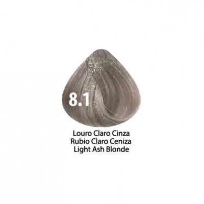 Tinta Violet Keratin Trendy 8.1 - 100ml - LOURO  CLARO CINZA