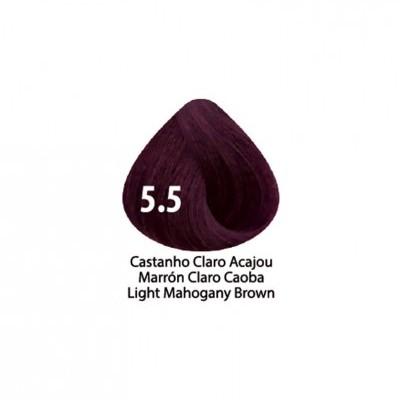 Tinta Violet Keratin Trendy 5.5 - 100ml - CASTANHO CLARO ACAJOU