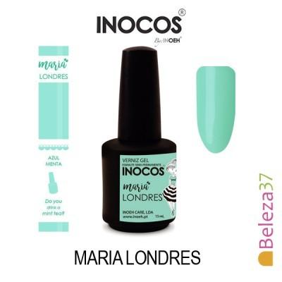 Verniz Gel Inocos 124 — Maria Londres (Verde Menta)