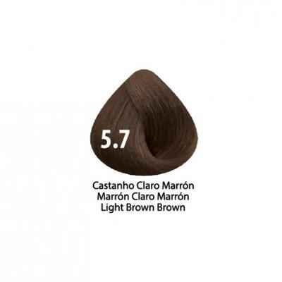 Tinta Violet Keratin Trendy 5.7 - 100ml - CASTANHO CLARO MARRON
