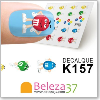 Decalques dos M&M's (K157)