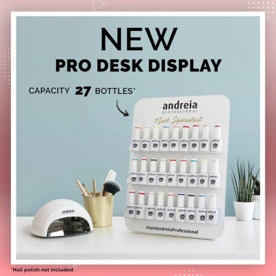 PRO DESK DISPLAY ANDREIA (Para 27 Frascos)