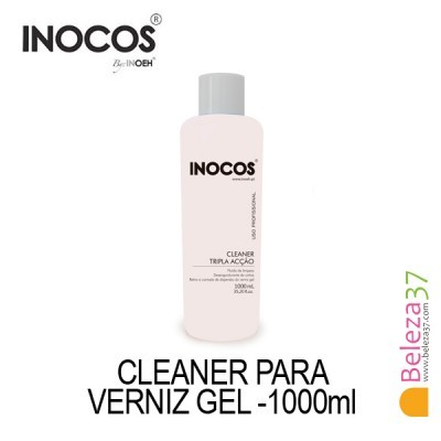 Cleaner para Verniz Gel Inocos 1000ml