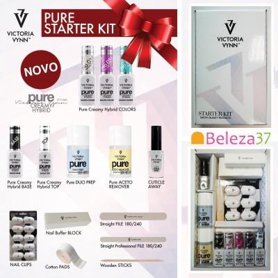 Starter Kit PURE Victoria Vynn - Kit de Iniciação ao Verniz Gel