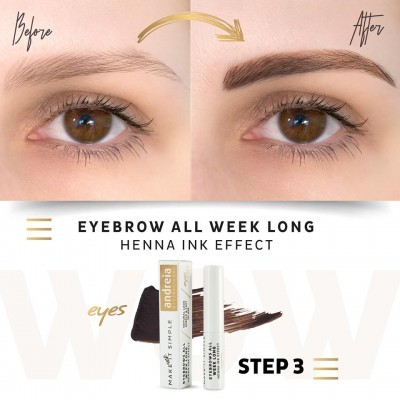 Andreia Eyes 4 - EYEBROWS ALL WEEK LONG - Henna Ink Effect