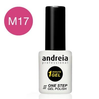 ANDREIA 1 MINUTE GEL M17 (Rosa Fúscia)