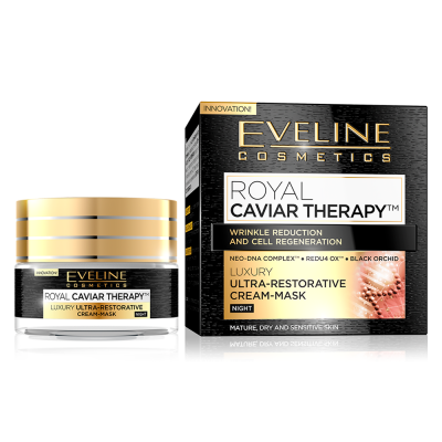 Máscara Eveline Royal Caviar Therapy Night Cream