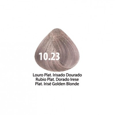 Tinta Violet Keratin Trendy 10.23 - 100ml - LOURO PLATINADO IRISADO DOURADO