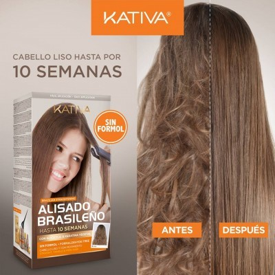 Kit Alisamento Brasileiro Kativa Sem Formol