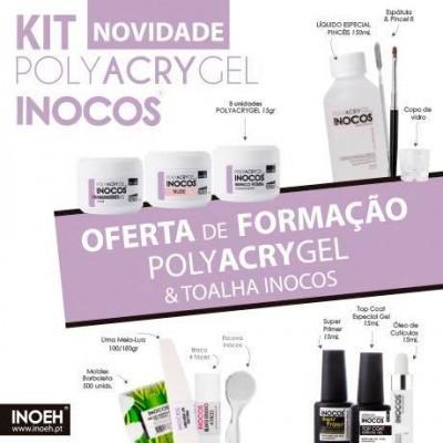 Kit Polyacrygel Inocos + OFERTA DE FORMAÇÃO