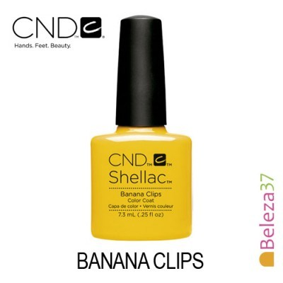 CND Shellac – Banana Clips