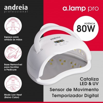 Catalisador Andreia UV & Led 80w - a.Lamp Pro