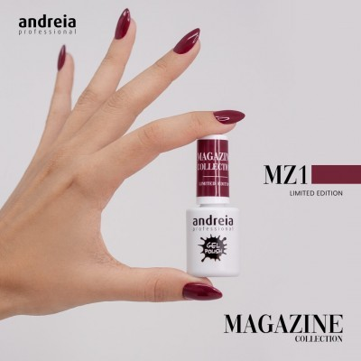 Verniz Gel Andreia MZ1 - Bordeaux (Outono)