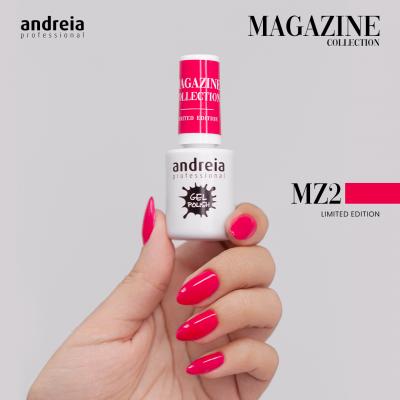 Verniz Gel Andreia MZ2 – Cereja Intenso (Verão)