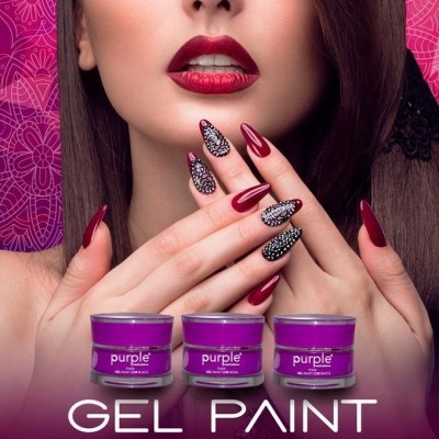 Gel Paint Purple