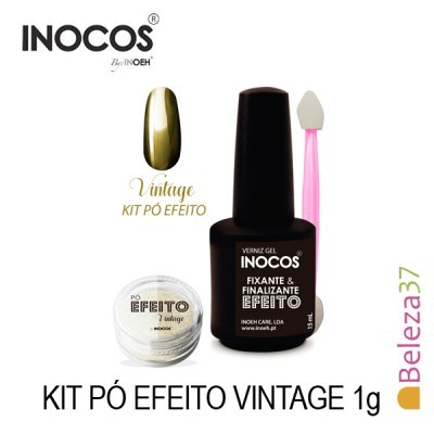 Inocos — Kit Pó Efeito Vintage 1g