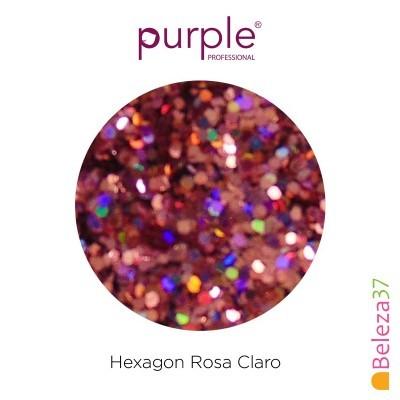 Hexagon Rosa Claro
