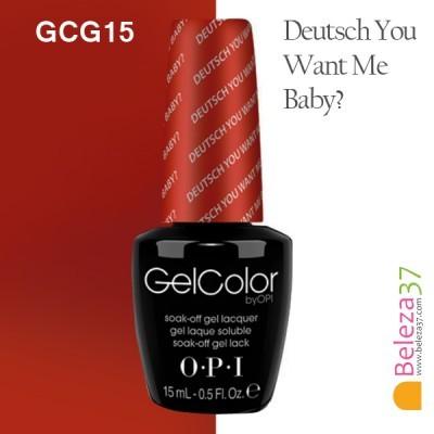 OPI GCG15 – Deutsch You Want Me Baby?