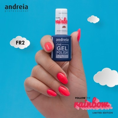 The Gel Polish Andreia FR2 - Rosa Choque Néon