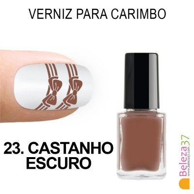 Verniz para Carimbo - 23. CASTANHO ESCURO