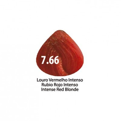 Tinta Violet Keratin Trendy 7.66 - 100ml - LOURO VERMELHO INTENSO