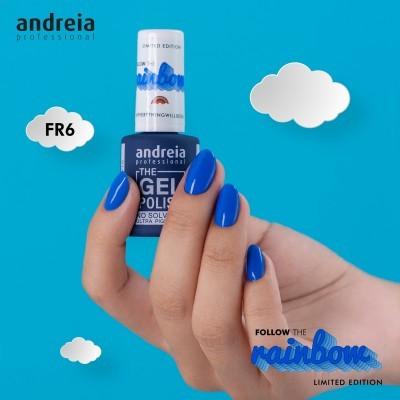 The Gel Polish Andreia FR6 - Azul Elétrico