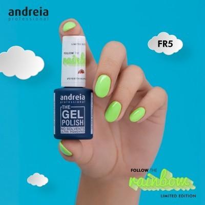The Gel Polish Andreia FR5 - Verde Néon