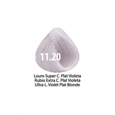 Tinta Violet Keratin Trendy 11.20 - 100ml - LOURO SUPER CLARO PLATINADO VIOLETA