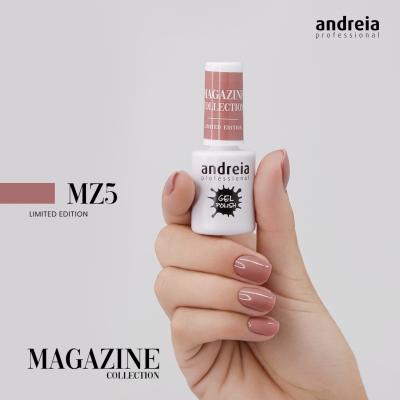 Verniz Gel Andreia MZ5 – Nude Caramelo (Intemporal)