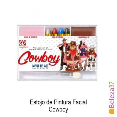 Estojo de Pintura Facial - 06 - Cowboy