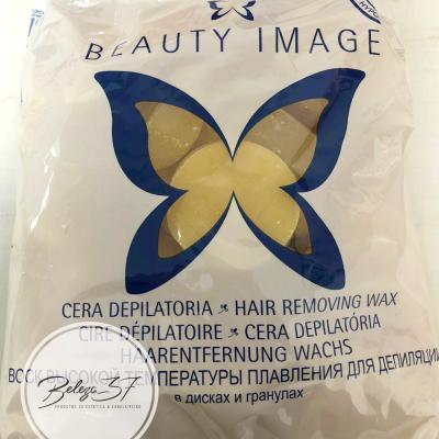 Cera em Disco 1Kg Beauty Image – Natural
