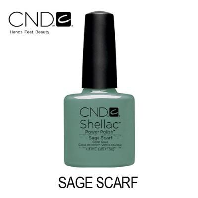 CND Shellac – Sage Scarf