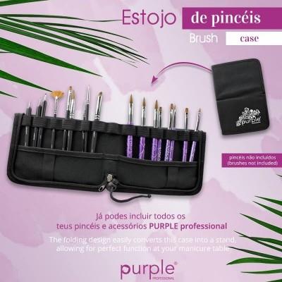 Estojo para Pincéis Purple (Pincéis não incluídos)