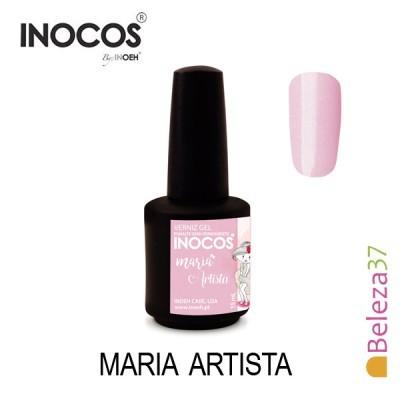 Verniz Gel Inocos 109 — Maria Artista (Rosinha Brilhos Suaves)