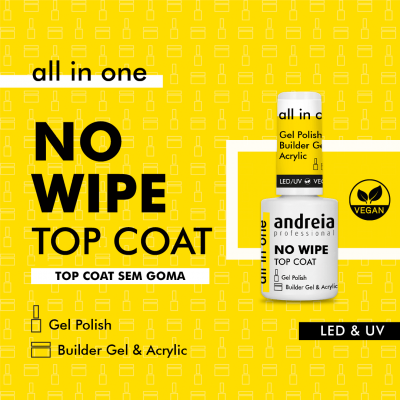 All In One Andreia No Wipe Top Coat