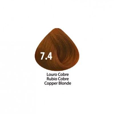 Tinta Violet Keratin Trendy 7.4 - 100ml - LOURO COBRE