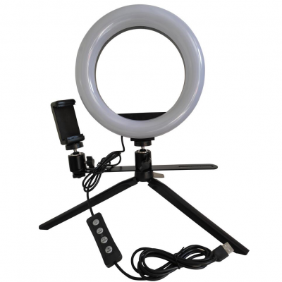 Anel Led de Mesa (Led Ring)