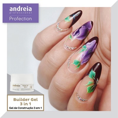 Builder Gel Trifásico (3 em 1) Andreia Profection