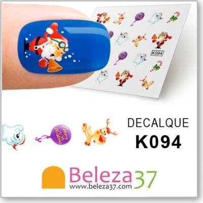 Decalques Viva o Natal (K094)