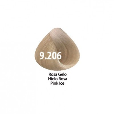 Tinta Violet Keratin Trendy 9.206 - 100ml - ROSA  GELO