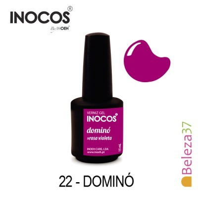 Verniz Gel Inocos 22 — Dominó (Violeta)