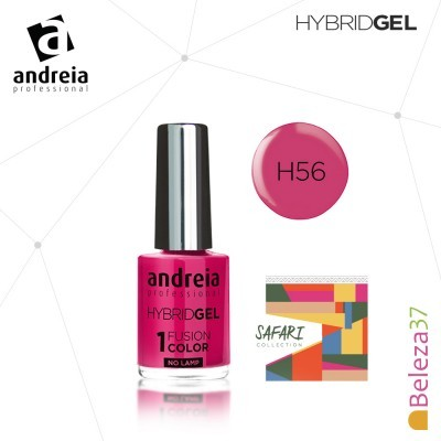 Hybrid Gel Andreia – Fusion Color H56 (Rosa Fúcsia)